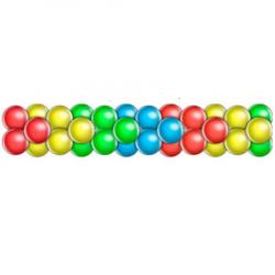 Гирлянда из шаров стрелка 4 цвета